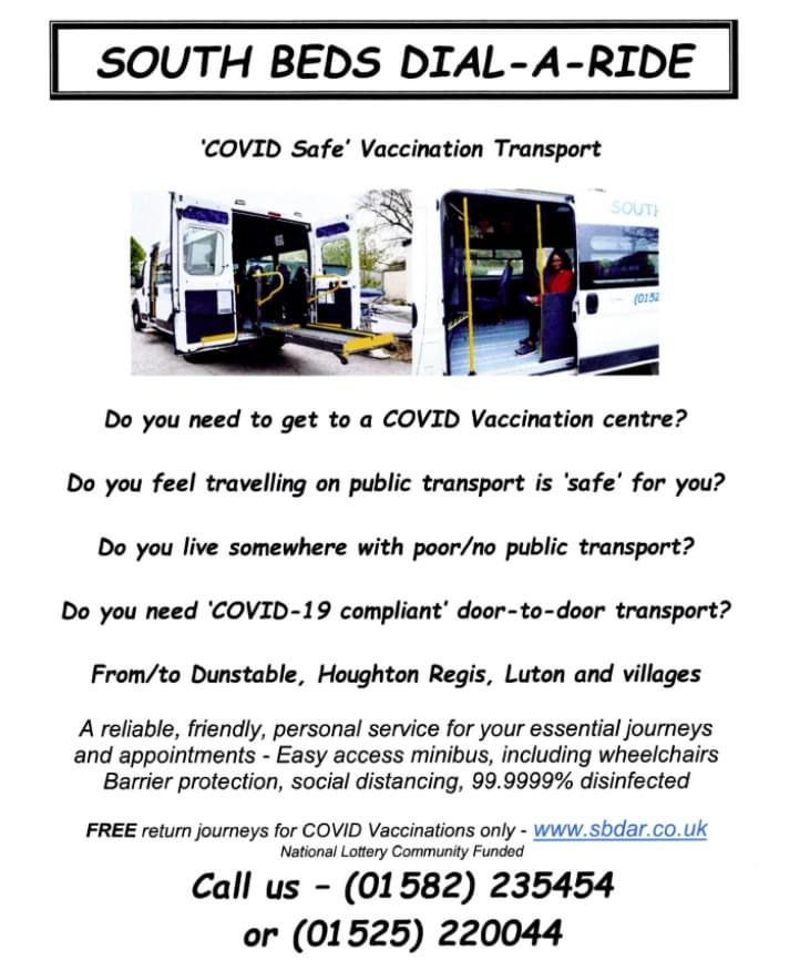 FREE Vaccination Transport Service